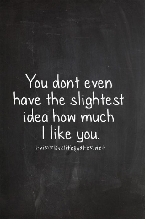 Cute Love Quotes From Girl To Guy : Crush quotes humor