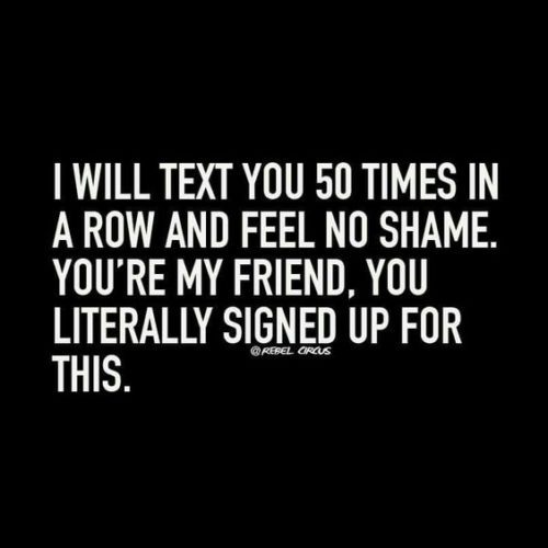 Friendship Quotes You Can Text : Best funny friendship quotes humor