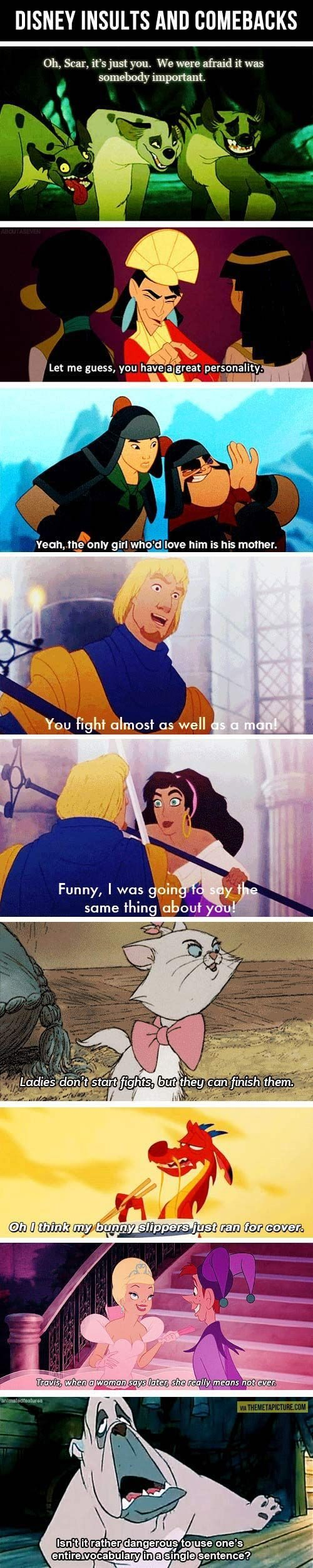 40 Disney Humor Quotes #Disney #Humor