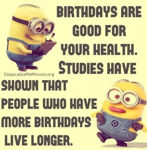 Top 30 Funny Birthday Quotes #Funny #Birthday Quotes