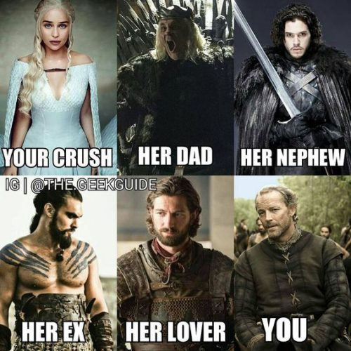 Best 30 Game of Thrones Memes #Game of Thrones #Memes