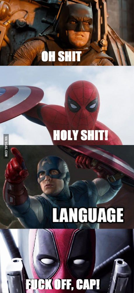 Funniest Meme Characters : Top funny deadpool memes quoteshumor